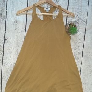 3/$30-Mustard Colour Old Navy Tank